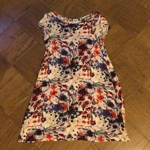 Vero Moda Floral Tee Shirt Dress